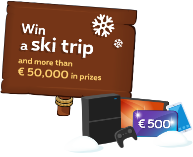 Do you know you can win some amazing prizes if you play with the Piratapult? Enter your code, find a Piratapult ticket, shoot your pirates over 1 500 meters and get selected for the live finals! The prizes at stake: - 1st prize: a trip to Hawaii worth € 5 000- 2nd prize: a travel voucher worth € 2 500- 3rd prize: a travel voucher worth € 1 000 The next 100 winners will get a voucher worth €500. >